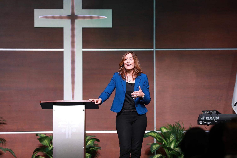 Kristi Overton Johnson visits CCM
