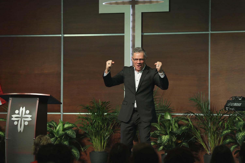 Pastor Paul Goulet Visits CCM