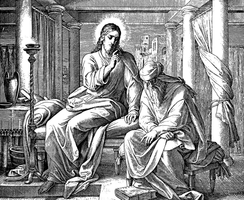 Consider Nicodemus
