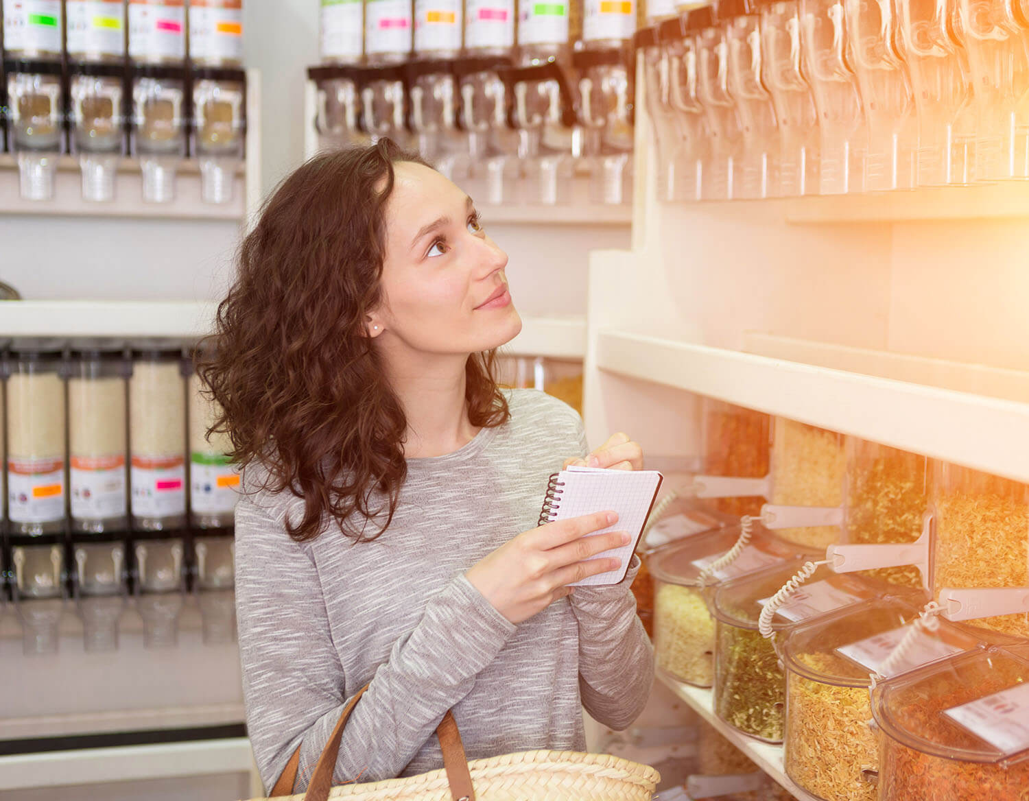 Woman in store