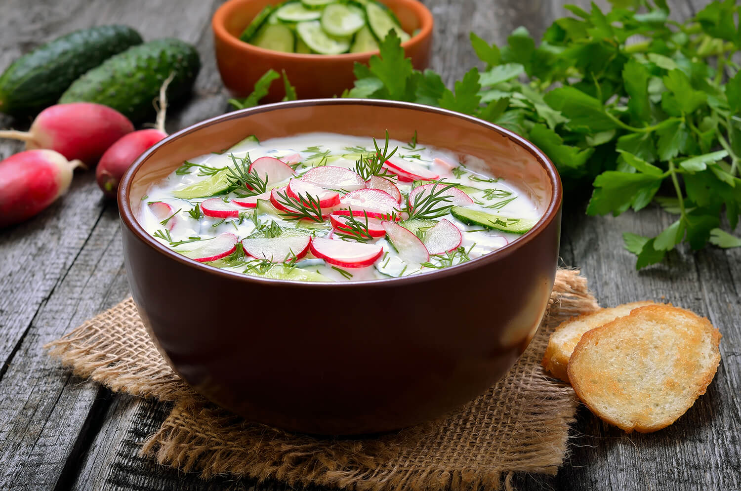 7 benefits of eating soup, no matter the season