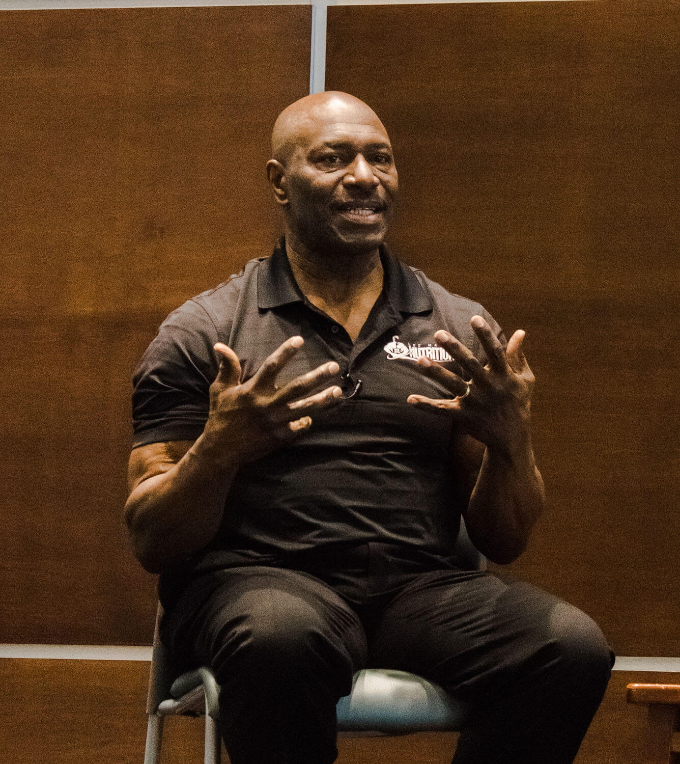 8-Time Mr. Olympia Lee Haney Visits CCM