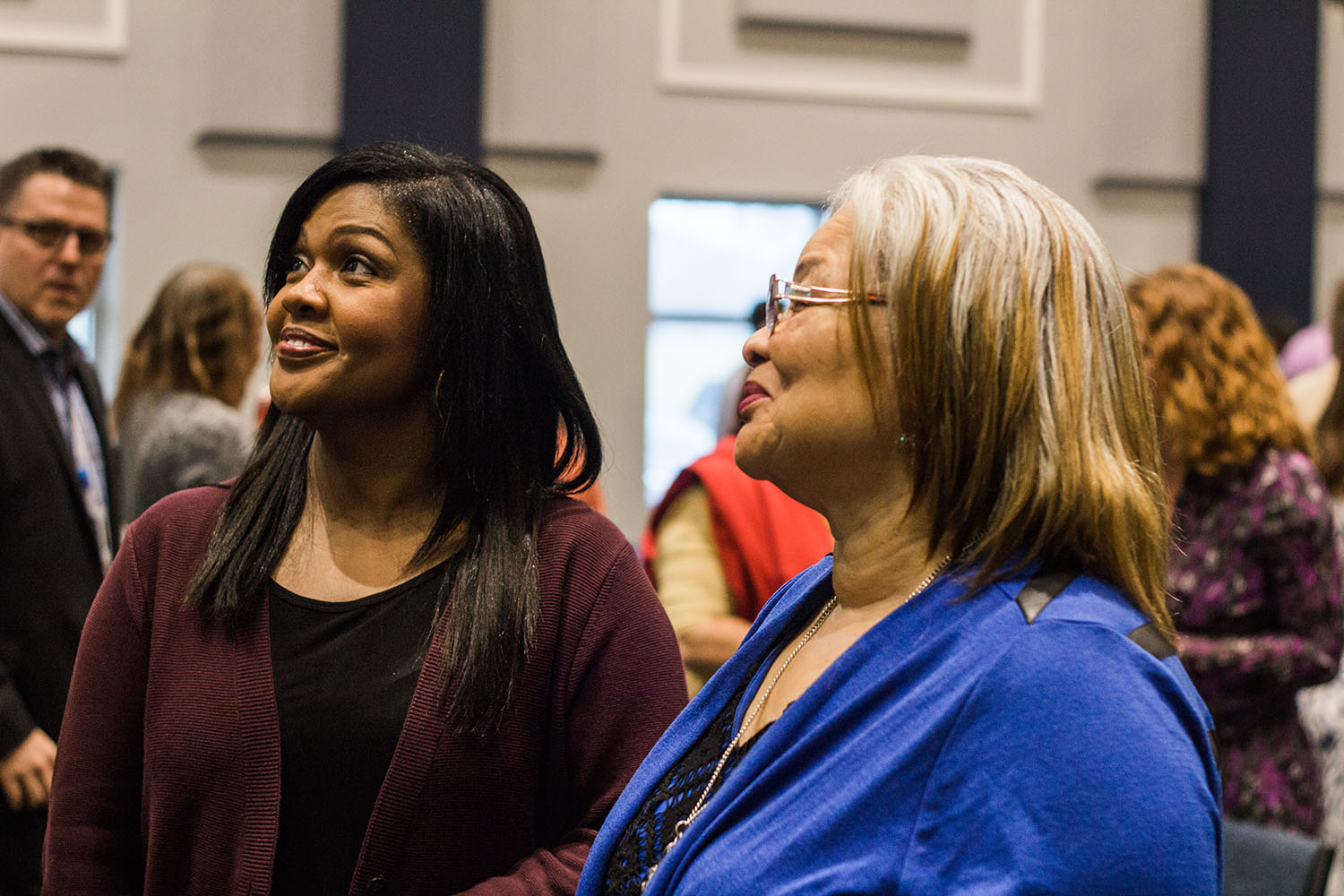 Dr. Alveda King and CeCe Winans Visit CCM