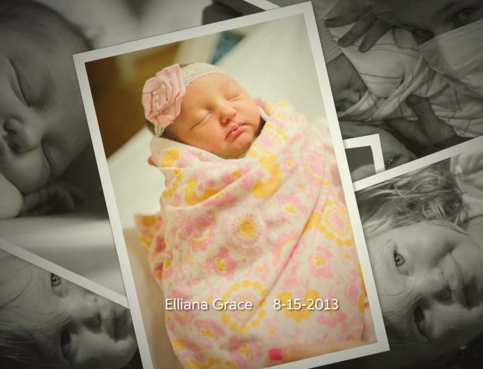 Elliana Sokic baby